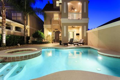 Nights out by the pool are enchanting