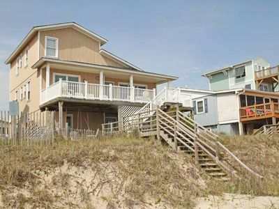 Photo for Frank's Folly: 6 BR / 3.5 BA home in Oak Island, Sleeps 15