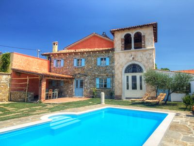 Photo for Traditional Istrian villa with a watchtower offering magnificent views
