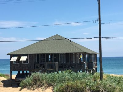 Photo for CLASSIC 1935 OCEANFRONT BEACH COTTAGE