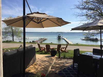 Photo for Lake Charlevoix Waterfront Home:  July 6th - 13th  AVAILABLE
