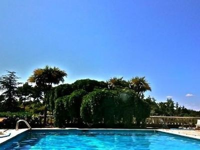 Photo for Bastide with private tennis court, pool, spa, petanque