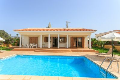 Beautiful Beachfront Villa with Private Pool, Terrace and Garden