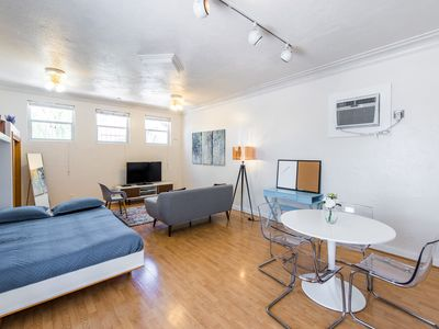 Photo for Mid-Century Mod Cottage in Trendy Downtown Location!
