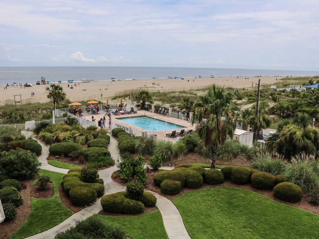 Tybee Vacation Condo With Oceanfront Pool 3 Bedrooms