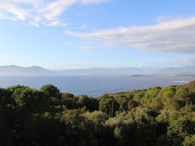 Photo for CLIMATE & CALM VILLA - OVERLOOKING VIEW AJACCIO BAY