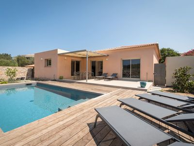 Photo for CASA VIGNOLA - VILLA **** - Heated pool - Near beaches L'Ile-Rousse