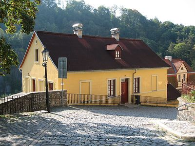Photo for Vacation home Podhradí in Loket - 10 persons, 3 bedrooms
