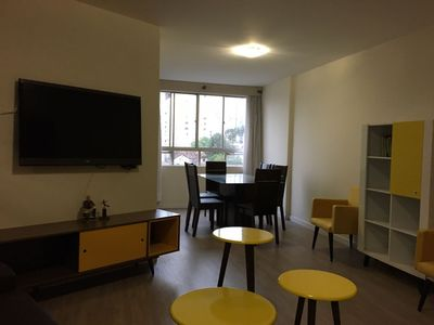 Photo for Apartamento Central Novo 06 adults 02 children check in and out special hours
