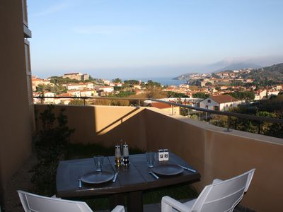 T2 New Collioure Terrace Panoramic Sea View