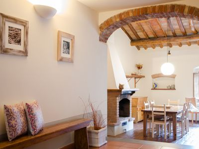 Photo for Apt. in the heart of the Chianti, in a small medieval village, for 6 people WiFi