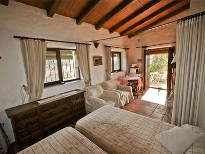 Photo for Studio for 2 persons in old andalusian farmhouse with swimming pool
