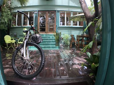 Your Bike, Your Private Yard, Your Home