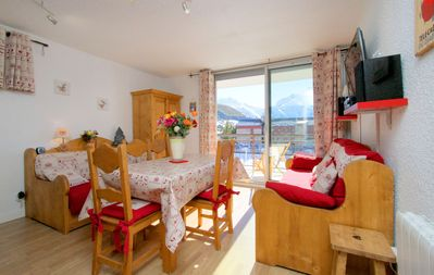 Photo for 34 m² resort center comfort 4 * 4 people, Wifi, on the slopes, south terrace