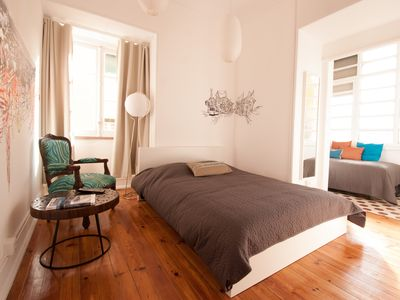 Photo for Art & Garden Home in the center of Lisbon with FREE WIFI, garden and parking