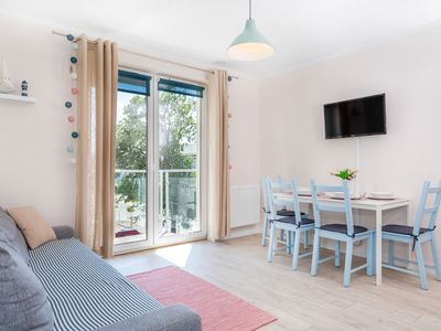 Photo for Magic Marine Apartment with bedroom and balcony