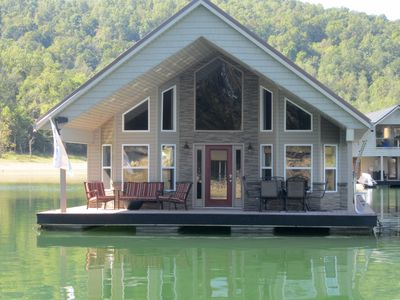 Photo for Beautiful Floating House, Sleeps 10, Gorgeous View