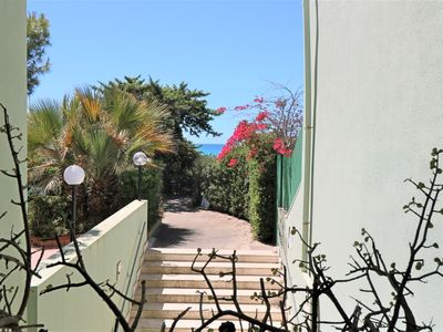 Photo for Le Dune holiday home in Baia Verde Gallipoli facing the beach
