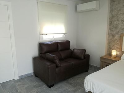 Photo for Lola Beach: Charming Studio Apartment on the Beach Close to Historic Centre with Air Conditioning & Wi-Fi