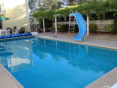 Private swimming pool. Refreshing and fun.