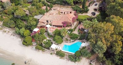 Photo for Rare outstanding beachfront position, private pool, delightful meals