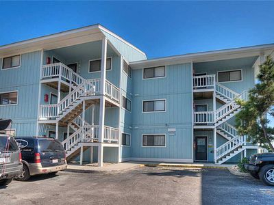 Photo for Riggings C1: Direct Oceanfront 1 Bedroom Condo with a Community Pool in Kure Beach