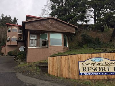 Photo for Smugglers Cove Resort Unit 2 is in Newport, OR on the Bay front.