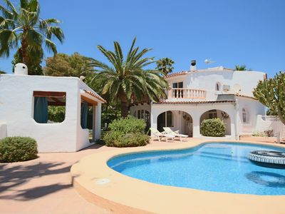 Photo for Tranquil 3-bed Benissa Villa w/Private Pool