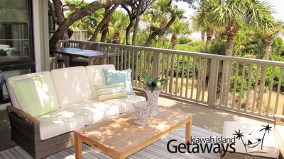 Photo for HUGE Oceanfront Deck, Oceanviews! Cool, Fresh, Breezy, Carefree and COMFORTABLE