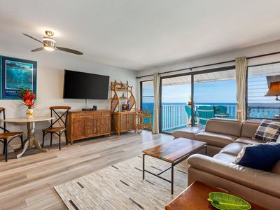 Photo for Top Floor | Direct Ocean Front | Nicely Updated | Starting $149/night