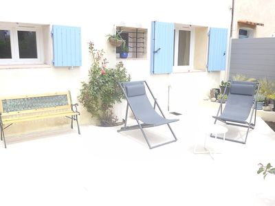 Photo for House in the center of Cavalaire-sur-Mer with Parking, Internet, Washing machine, Air conditioning (499923)