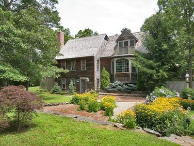 Photo for Private Mini-Estate with Main and Carriage houses, Heated Pool, Close to Beach