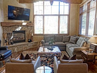 Photo for Large, Luxurious Townhome Just Steps to World Class Skiing & Mountain Biking