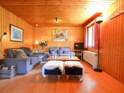Photo for Chalet Apartment in Fiesch, Valais within walking distance of the gondola