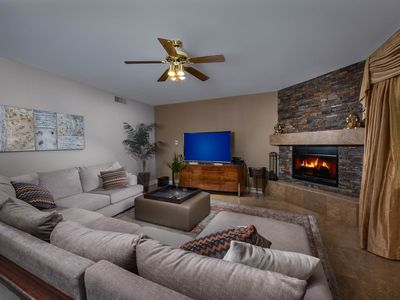Photo for NEW LISTING! Lavish home w/backyard oasis-private pool, furnished patio, firepit