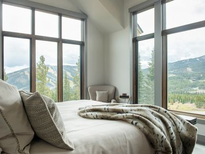 Photo for Newly constructed ski-in, ski-out home with private hot tub and Lone Peak views