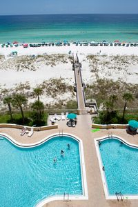 Photo for Gorgeous Condo directly on the Gulf of Mexico!