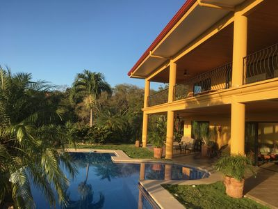 Photo for Luxury Villa with Panoramic Ocean and Jungle Views 10 MInutes from the Beach