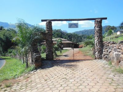 Photo for Casa de Pedra - Socorro / SP-WIFI and Swimming Pool with Solar Heating - 19 9 9112-2561
