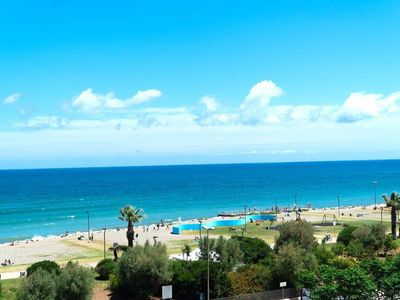 Photo for Punta Levante Apartment - 2 bedrooms  - Beach front