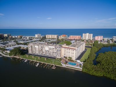 Photo for Luxury Condo across from beach, on the inter-coastal waterway