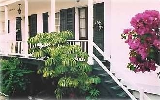 Bougainvillea House Upstairs Suite w/ Balcony facing Courtyard & Secure Parking