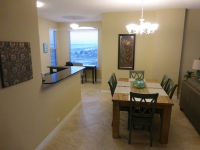 Dining Area seats 6 and is great for Board Games too!