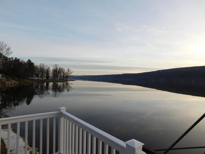 Photo for Lakefront, family friendly home with beautiful lake frontage; unobstructed views