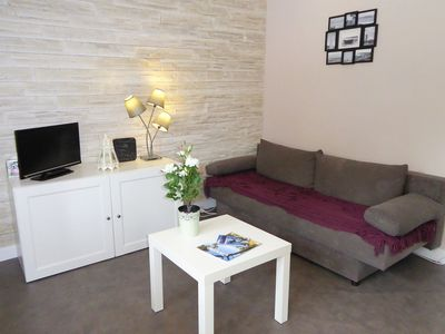 Photo for Lovely apartment for 3 people with WIFI and TV