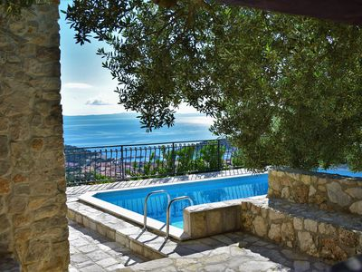 Photo for ** LASTMINUTE ** Villa Sara with pool, jacuzzi and sea view