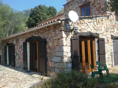 Photo for VILLA IN STONES PARADISE in the heart of the maquis Corsica with 3km of beautiful beaches