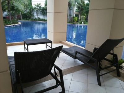 Photo for #718-N9 Lagoon Condo 2BR/pool access
