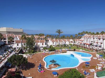 Photo for 1 Bedroom Duplex with Pool and Sea Views