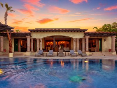 Photo for Beach-view & Infinity Pool | 40% OFF SPECIAL Hacienda-Style Estate CABO | 8 ppl